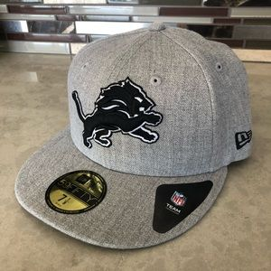 NWT Detroit Lions Fitted Cap